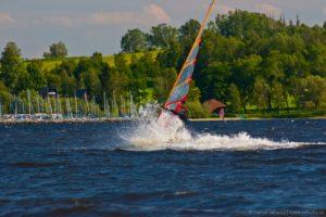 Windsurfing na Lipně