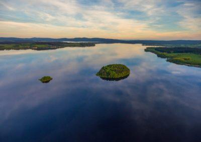 Dva největší lipenské ostrovy