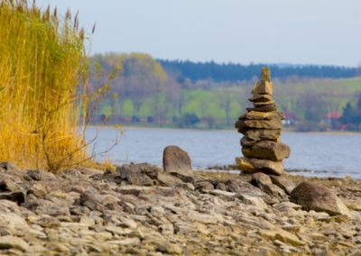 Procházka po břehu Lipna