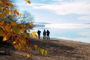 Podzimní procházka u Lipna