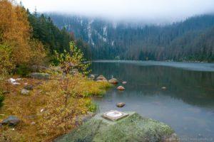 Podzimní Plešné jezero